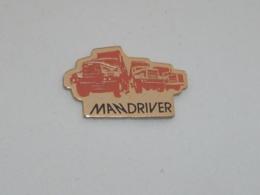 Pin's CAMIONS MAN DRIVER - Trasporti