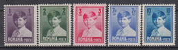 ROEMENIË - Michel - 1930 - Nr 356/60 - MH* - 1918-1948 Ferdinand, Charles II & Michael