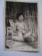 PHOTOGRAPHIE Ancienne : FEMME NUE ANNAMITE ( INDOCHINE - ANNAM - VIETNAM ) - Ethniques, Cultures