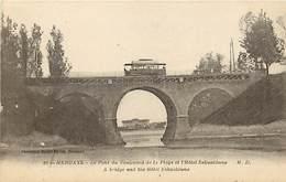 64  HENDAYE - Le Pont Du Boulevard De La Plage Et Hotel ESKUALDUNA - Jurancon