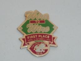 Pin's BASEBALL, REDS DE CINCINNATI 1990, WIRE TO WIRE - Honkbal