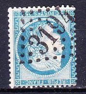 France-Yv 60A, GC 3194 Romorantin (40) - Marcophilie (Timbres Détachés)