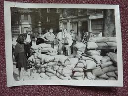 Photo, Barricade En 1944 à Paris 13è - Guerre, Militaire