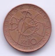 CESKA REPUBLIKA 2000: 10 Korun, KM 42 - República Checa