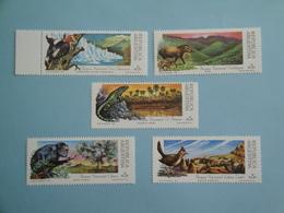 1989 Argentine  Yv 1666/70 ** MNH  - Michel 1962/6 Scott 1612/6 Animaux Faune - Neufs