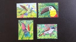 Timbre Oblitérés Série Complète  N° YetT - 3548 à 3551 - Oiseaux D'outre Mer - Année 2003 - Francia