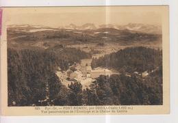 CPA-66-Pyrénées Orientales- FONT-ROMEU, Par Odeillo- Vue Panoramique De L'Ermitage Et La Chaîne Du Carlite- - Altri Comuni
