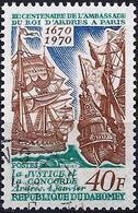 Dahomey 1970 - Mi 422 - YT 291 ( Sailing Ships : Concorde & Justice ) - Bateaux