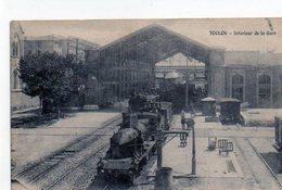 83 - TOULON - Intérieur De La Gare - Toulon