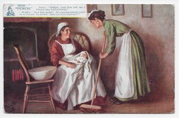 Good Jokes From Punch - Nurse And Bridget - Tuck Oilette 9191 - Humor