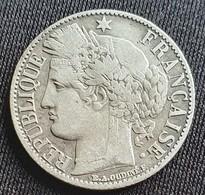 FRANCE 1 Franc 1872 K - Silver - France