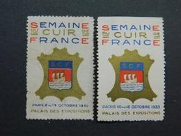 Vignette Salon Exposition Semaine Du Cuir De France Maroquinerie 1930 1933 - Andere