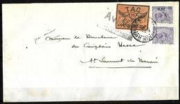 401 - FRENCH GUYANA - AIR MAIL - 1921 - RARE COVER - FORGERY, FALSE, FALSCH, FAKE, FALSO - Stamps