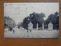 Bruxelles: Le Parc Et La Rue Royale -> Beschreven 1918 (FELDPOST) - Forêts, Parcs, Jardins