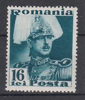 ROEMENIË - Michel - 1935/40 - Nr 505 - MH* - Nuevos
