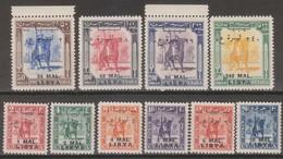 Libia Regno Tripolitania 1951 SaN°24-33 Cpl 10v MNH/** Vedere Scansione - Libye