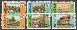 Swaziland 1978 - Independence  6v- MNH - As Per Scan - Swaziland (1968-...)