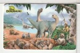 ITALIE - Disney - Dinosauri - [2] Tarjetas Móviles, Prepagadas & Recargos