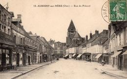 CPA  - 18 - AUBIGNY-SUR-NERE - Rue Du Prieuré - Aubigny Sur Nere