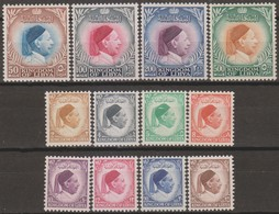 Libia Regno Unito 1952 SaN°34-45 Cpl 12v MNH/** Vedere Scansione - Libye