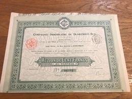 Action 1905 Compagnie Immobilière De Dunkerque Sud - Banque & Assurance