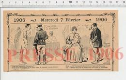 2 Scans Humour Rasoir Coupe-chou Rasage Barbe Miroir-Lune Fesses Enfant Egalité Homme-Femme Droits Allaitement Bébé229ZD - Old Paper