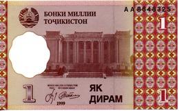 1 Diram 1999 - Tadschikistan