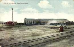 O.S.L.R. R. SHOPS Trains Railways  Pocatello , Idaho RV - Pocatello