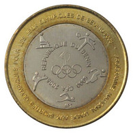 BENIN 6000 CFA OLYMPIC GAMES BEIJING 2008 BIMETAL BI-METALLIC 2005 UNC - Benin