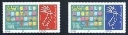 Nouvelle Calédonie - Timbre Personnalisé - Salon Des Collectionneurs 2019 (1367 1368) - New Caledonia