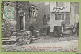 12 Aveyron Saint Chély D Aubrac ( Coin De Rue ) Env De Espalion Rodez - France