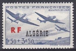 Algerien Algeria Algerie 1945 Wohlfahrt Welfare Militär Military Luftwaffe Airforce Flugzeuge Aeroplanes, Mi. 243 ** - Algeria (1924-1962)