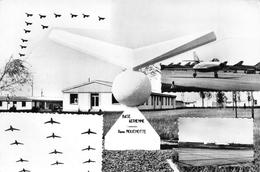 CAMBRAI - Base Aérienne René Mouchotte - Avions - Photo P. Caudron - Philatélie Cachet Hexagonal En Pointillés - Cambrai