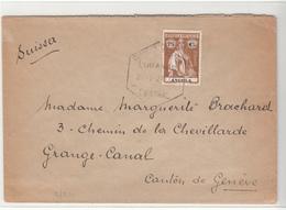 Angola / Ceres / Postmarks / Switzerland - Angola
