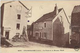 LOZERE : Chasseradés, La Place Et La Maison JEAN - France