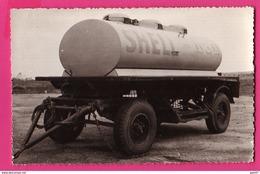 PHOTO (Réf: Z 2548)  (TRANSPORTS CAMION) SHELL (Philippeville) - Transporter & LKW
