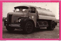 PHOTO (Réf: Z 2549)  (TRANSPORTS CAMION BERLIER) SHELL (Philippeville) - Transporter & LKW