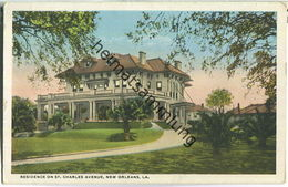 New Orleans - Residence On St. Charles Avenue - Baton Rouge