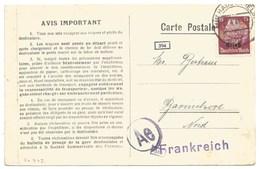 Sk942 - MULHAUSEN - 1941 - Tarif 15 Pfennig Tarif CP Pour La France - MULHOUSE - - Marcophilie (Lettres)