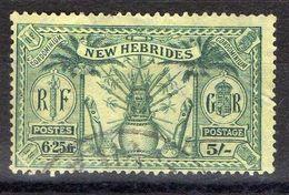 NOUVELLES-HEBRIDES (POSTE) : Y&T N° 99 TIMBRE BIEN OBLITERE , A SAISIR .B 3 - Used Stamps
