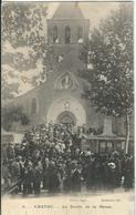 LOZERE : Chanac, La Sortie De La Messe - Chanac