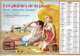 Collector 2012 - Les Plaisirs De La Plage ** (sous Blister) 12 Timbres Lettre Verte - France