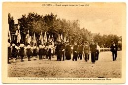 CAHORS - Grand Congrès Jaciste - Août 1942 - Peu Courante - Voir Scan - Cahors