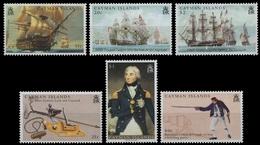Kaiman-Inseln 2005 - Mi-Nr. 992-997 ** - MNH - Schiffe / Ships - Cayman Islands