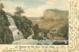 026 755 - CPA - Coo - La Cascade De Coo Dans L'ancien Temps - Stavelot