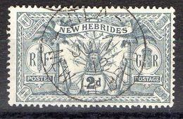 NOUVELLES-HEBRIDES (POSTE) : Y&T N° 51 TIMBRE BIEN OBLITERE , A SAISIR .B 3 - Used Stamps