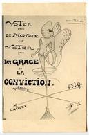 CAHORS - Caricature D'Anatole De Monzie Par Pierre Toulouse - Voir Scan - Cahors