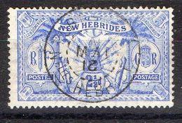 NOUVELLES-HEBRIDES (POSTE) : Y&T N° 52 TIMBRE BIEN OBLITERE , A SAISIR .B 3 - Used Stamps