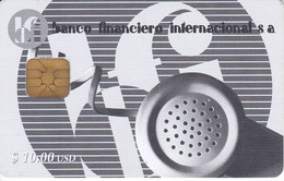 017 TARJETA DE CUBA BANCO FINANCIERO 1ª EDICION - Cuba