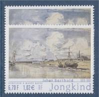 = Honfleur à Marée Basse Par Johan Barthold Jongkind N°3429 Nuance Couleur Différente - Variétés Et Curiosités
